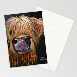 Scottish Highland Cow ' HENRY ' by Shirley MacArthur Stationery Cards