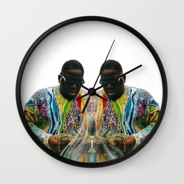 Biggie Smalls Wall Clock
