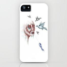 Whisperer iPhone Case