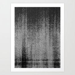 SCRATCHES / Four Art Print
