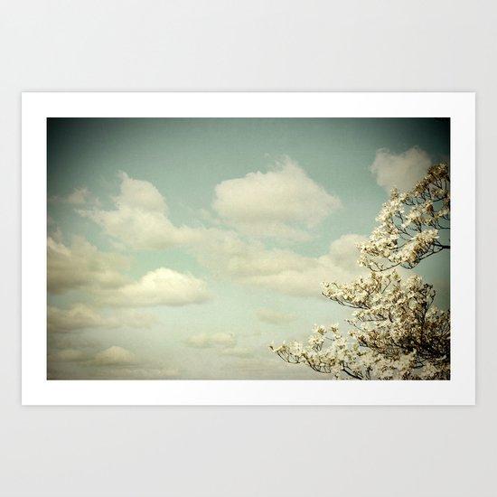 Feeling Lighter Than Air Art Print