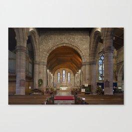 Brewood church Canvas Print