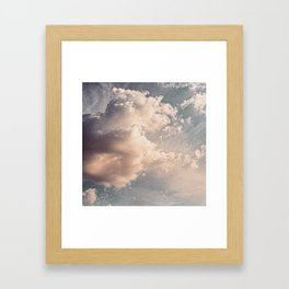 The Clouds #2 Framed Art Print