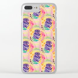 doodle doo Clear iPhone Case