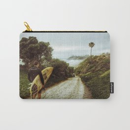 Surfer Boy, Cardiff, California Carry-All Pouch