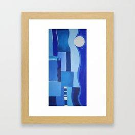 Seamoon Framed Art Print