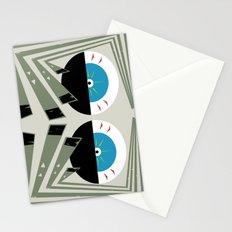 Zombie Eyes Stationery Cards