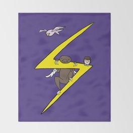 Ms. Marvel's Sloth Throw Blanket