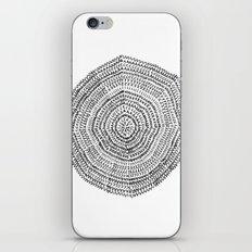 Vacancy Zine Mandala I B&W iPhone & iPod Skin