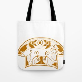 The Sienna Norse Fox Tote Bag