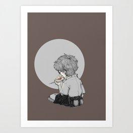 Burn your dreams Art Print