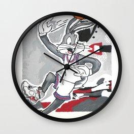 Looney 8's Wall Clock