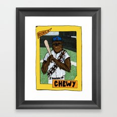 Wookiee of the Year Framed Art Print