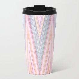 Agate Chevron Travel Mug
