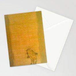 Golden Koi Stationery Cards