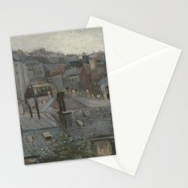 View from Vincent's Studio Stationery Cards