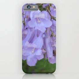 Jacaranda in the Breeze iPhone Case