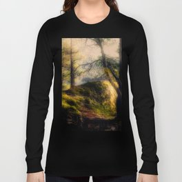 Misty Solitude, The Way Through The Woods Long Sleeve T-shirt