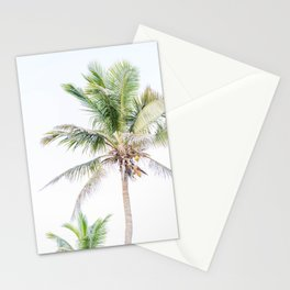 Tropical Palm Trees Stationery Cards