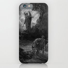 Adam and Eve Driven out of Eden- Dore iPhone Case