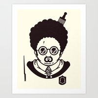 potter Art Prints featuring Potter by Ryder Doty