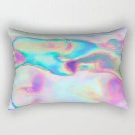 Iridescence - Rainbow Abstract Rectangular Pillow