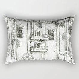 Sunset Bl. Rectangular Pillow