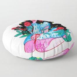 Inner Rose Floor Pillow