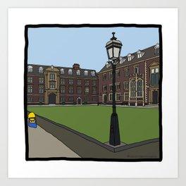 Cambridge stuggles: St Catherine's Art Print