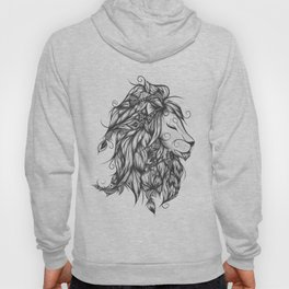 Poetic Lion B&W Hoody