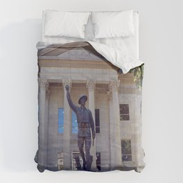 Harlan County, KY Courthouse Comforters
