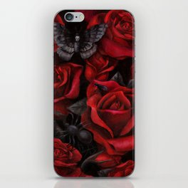 Bugs and Roses iPhone Skin