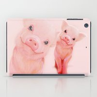 piglet iPad Cases featuring Mr. Piglet by Isaiah K. Stephens