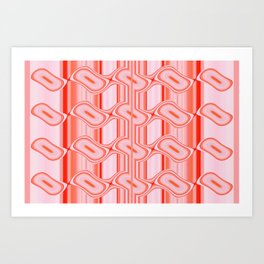 Living Coral 014 Art Print