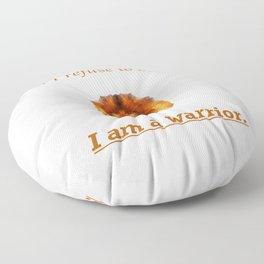 I Am A Warrior-Lion Edition Floor Pillow