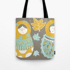 Autumnish mamushkas Tote Bag