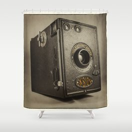 Ensign Box  Shower Curtain