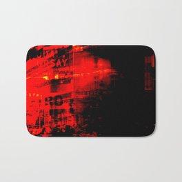 1st arrondissement-red2 Bath Mat