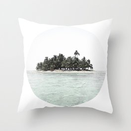 my island Throw Pillow