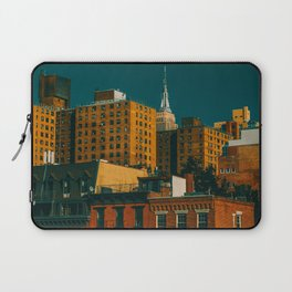 New York City Apartments (Color) Laptop Sleeve
