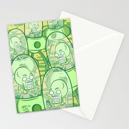 We Come In Peace II The Sequel G Stationery Cards