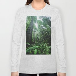 Redwood National Park- Pacific Northwest Nature Photography Long Sleeve T-shirt