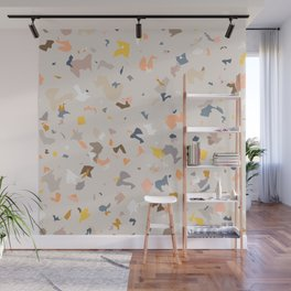 Lively Colorful Terrazzo Pattern Wall Mural