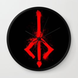 Bloody Rune Wall Clock