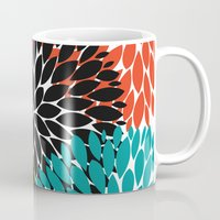 Big Tropical Flowers Mug