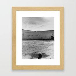 Vandalsim 3 Framed Art Print