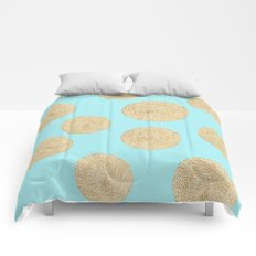 Straw Cushion Pattern Comforters