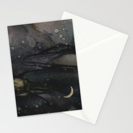 Crescent Moon 1 Stationery Cards