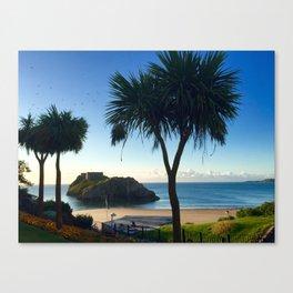 tenby, wales Canvas Print