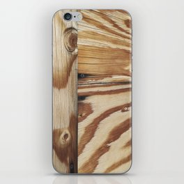 Plywood study iPhone Skin
